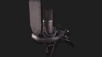 Microfones Produção